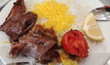 چلو گوشت پسران کریم مشهد