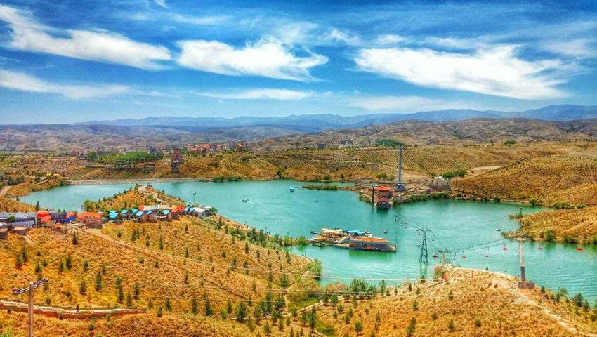 چالیدره مشهد - منطقه نمونه گردشگری در شهر زیبای مشهد