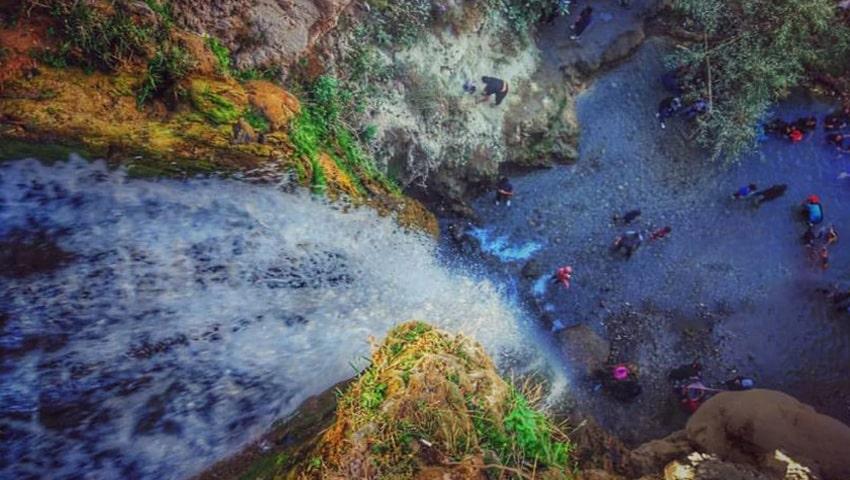 مکان های طبیعی مشهد، روستای آبگرم
