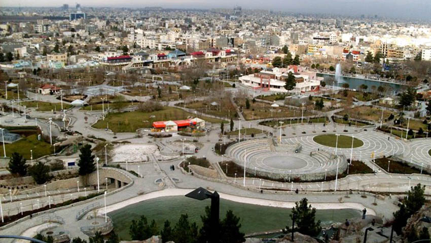 تصویری از پارک کوهسنگی مشهد