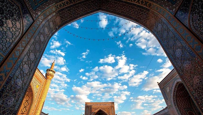 مسجد گوهر شاد دیدنی های مشهد