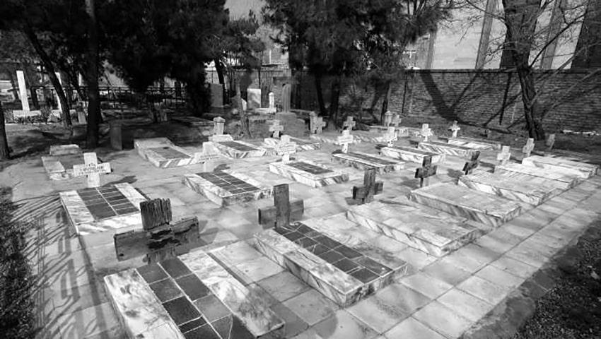 قبرستانی تاریخی برای ارامنه مشهد