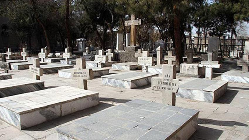قبرستانی تاریخی در مشهد