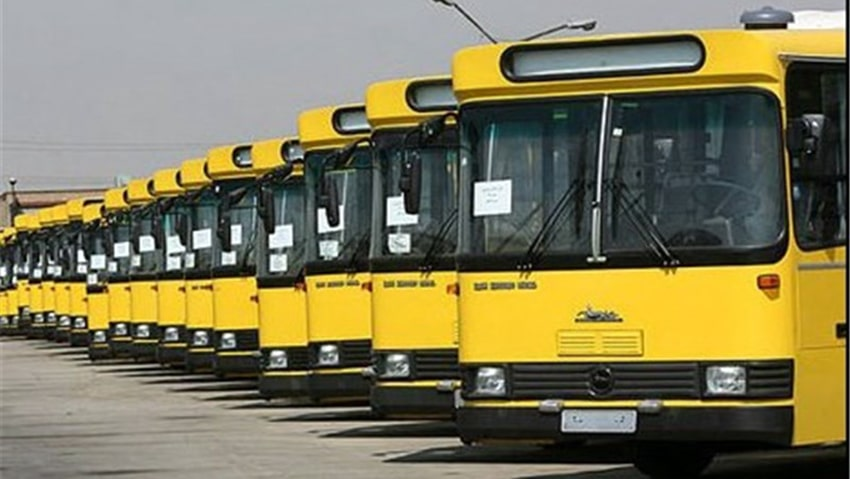 اتوبوس های مشهد