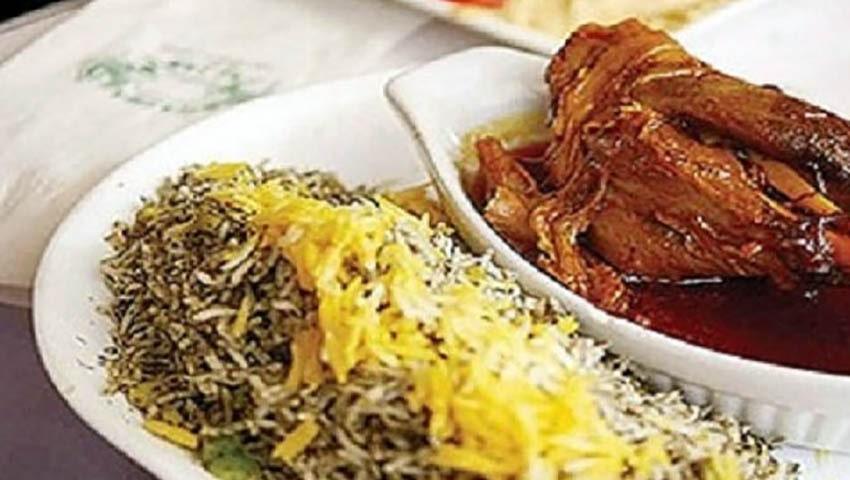 چلو ماهیجه رستوران پسران کریم مشهد