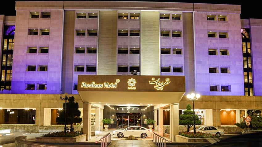 هتل پردسان مشهد