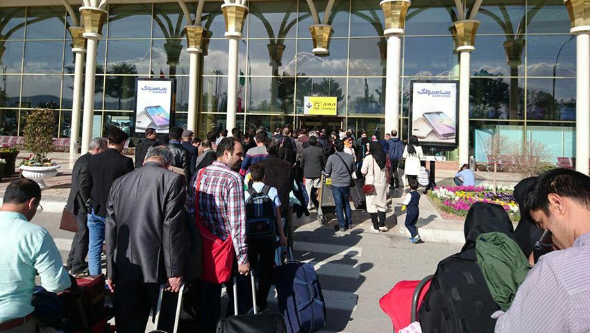 آدرس فرودگاه مشهد