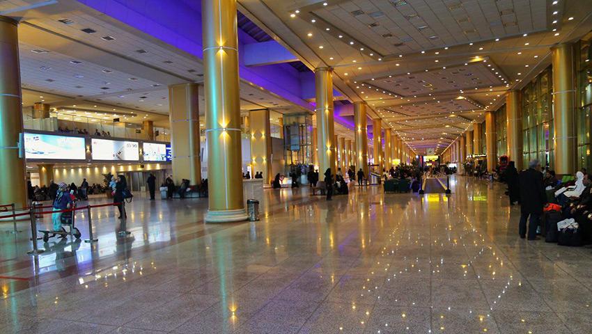 ترمینال های فرودگاه مشهد