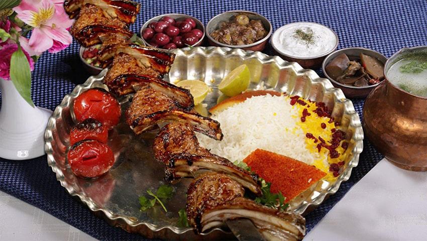 قیمت شیشلیک رستوران ارم شاندیز مشهد