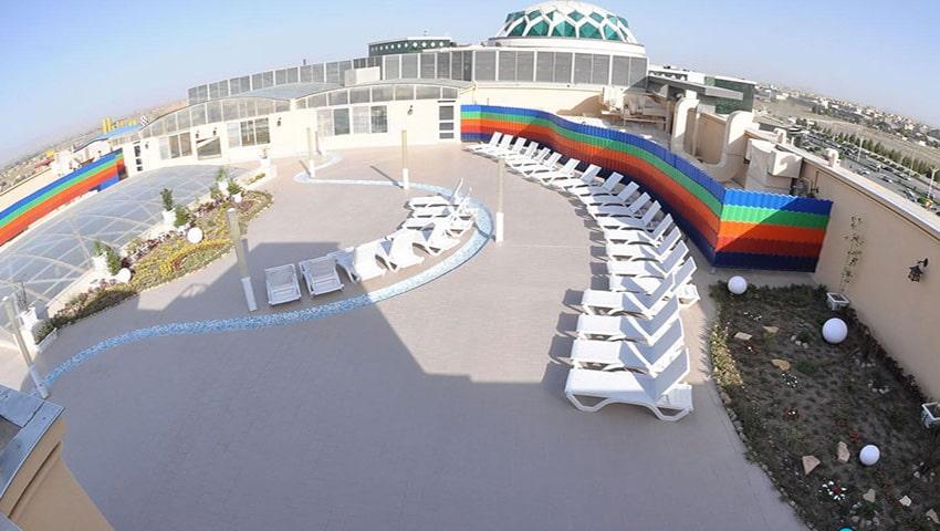 پارک ساحلی آفتاب مشهد، بزرگترین پارک آبی طبقاتی جهان