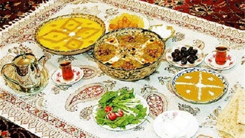 افطار در حرم امام رضا
