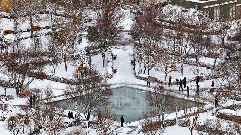 معرفی بهترین مکانهای دیدنی مشهد در زمستان در مشهد مگ