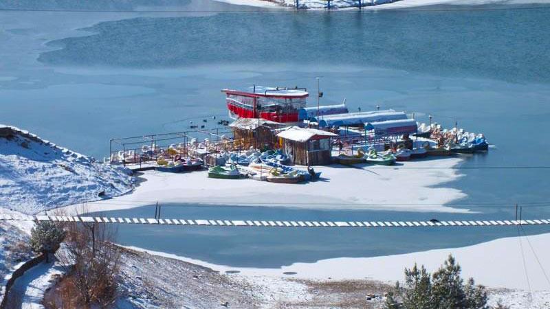 چالیدره، یکی از بهترین مکان های تفریحی مشهد در زمستان