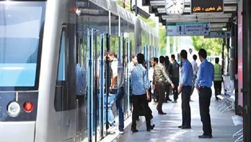قطار پردیس سالنی تهران مشهد
