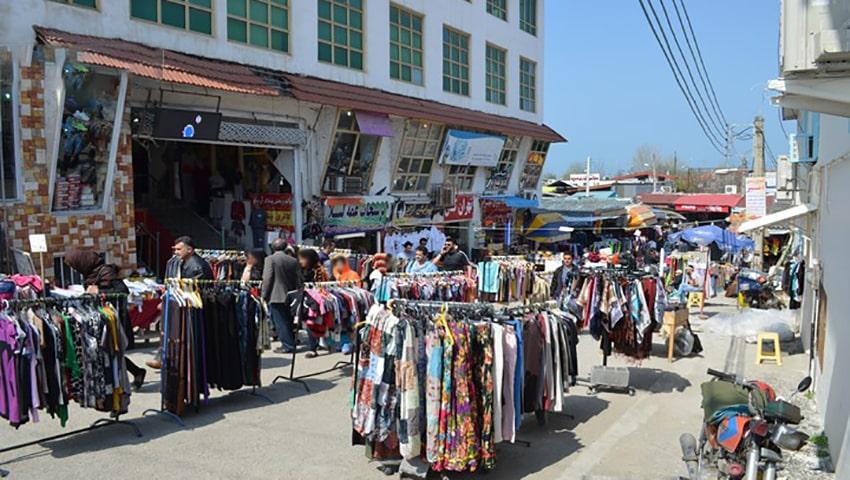 بازار روس ها در مشهد