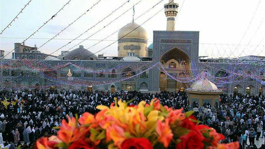 عید شعبان در حرم امام رضا