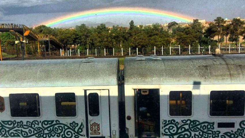 قطار فدک بهترین قطار تهران مشهد