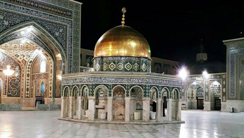 سقاخانه صحن قدس امام رضا
