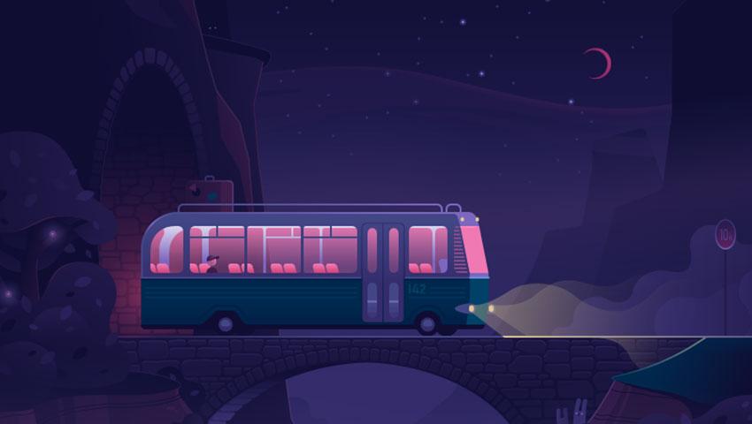 سفر به مشهد با اتوبوس