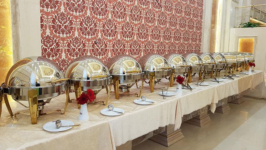 منو غذای رستوران شاندیز مشهد