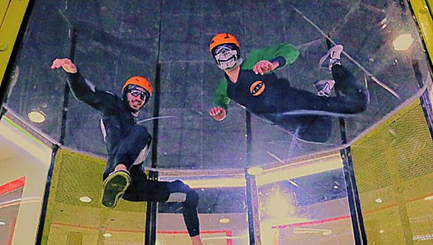 تونل باد صبا بهترین تفریح هیجانی منطقه گردشگری سپاد مشهد