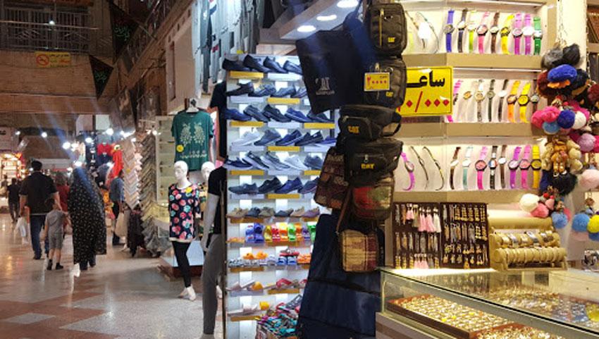 مغاز ه های جانبی بازار رضا مشهد
