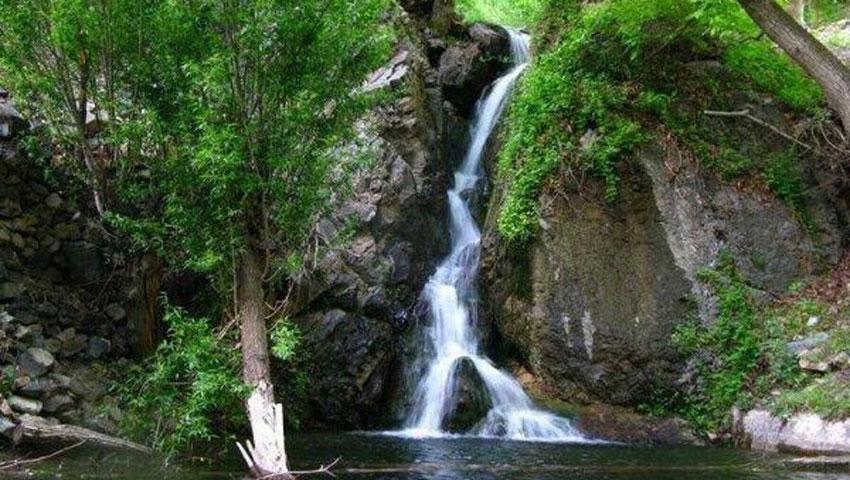 آبشار گرینه مشهد نیشابور