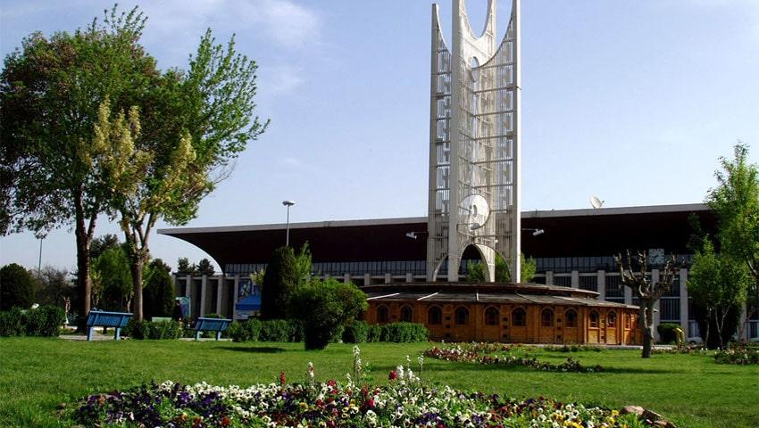 افتتاح میدان راه آهن مشهد
