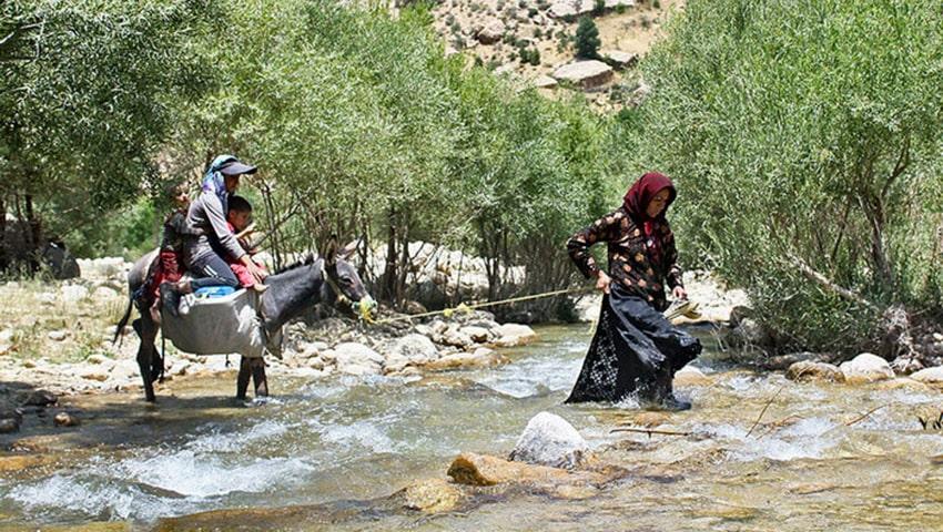 مردم بومی روستای جاغرق مشهد