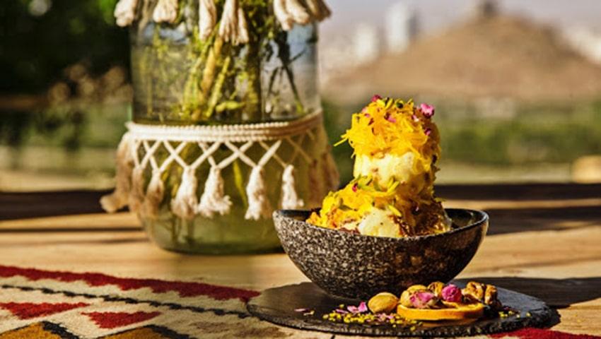 کافه سنتی شهرزاد هفت حوض مشهد