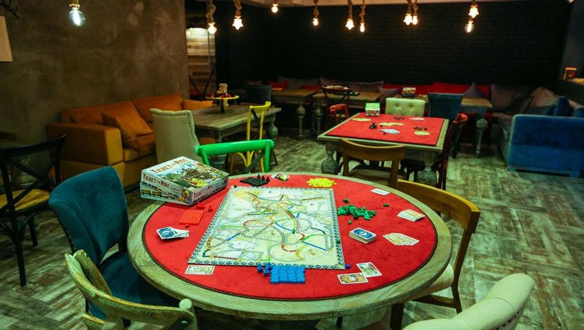 کافه گیم جیم شین مشهد