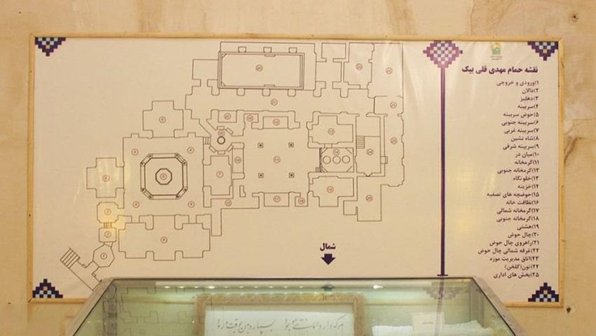نقشه بازدید از موزه مردم شناسی مشهد