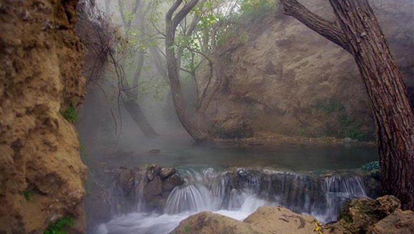 آبشار آبگرم روستای آّبگرم مشهد
