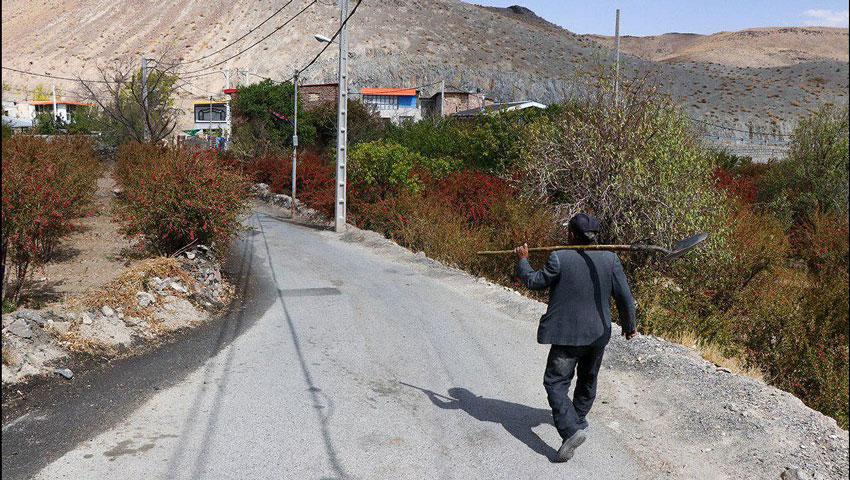 نمای روستایی روستای آّبگرم مشهد