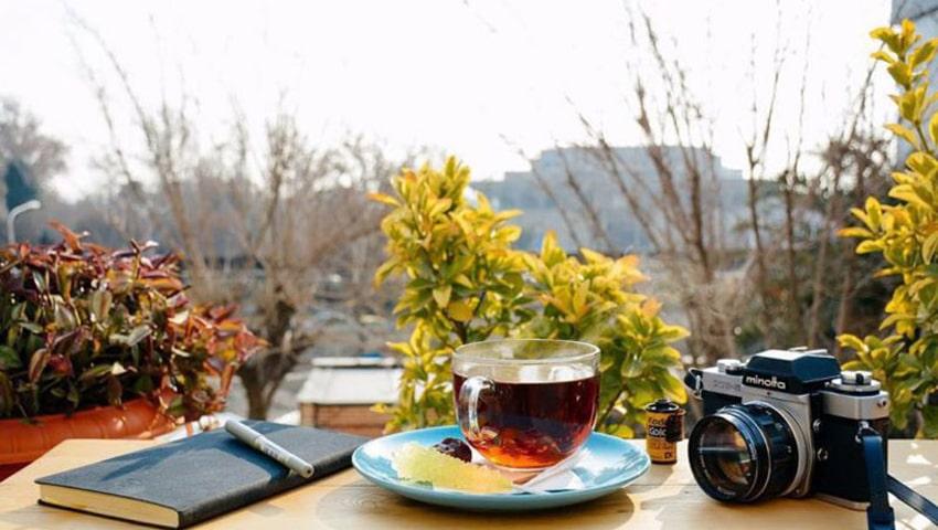 کافه های فضای باز مشهد