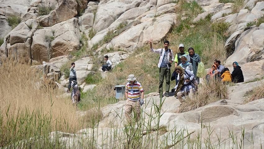 دره هفت حوض در مشهد