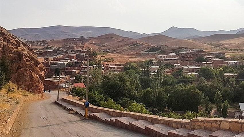 طبیعت روستای دهسرخ مشهد