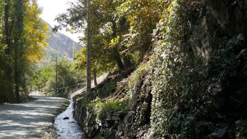 روستای جاغرق مشهد در بهار