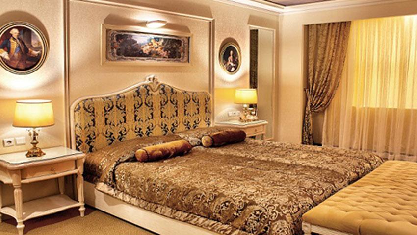اتاق های لوکس و ویژه هتل جواد مشهد