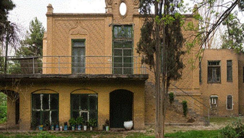 دیدنیهای نیشابور، باغ عمارت سعیدی