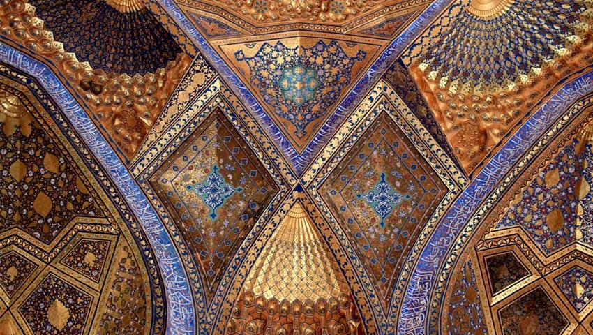 خاتم کاری مسجد گوهرشاد