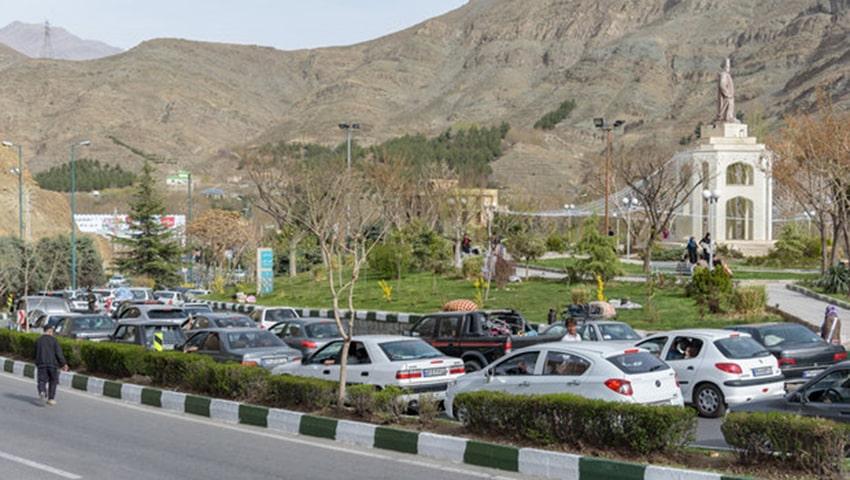 جاده تهران مشهد از شمال