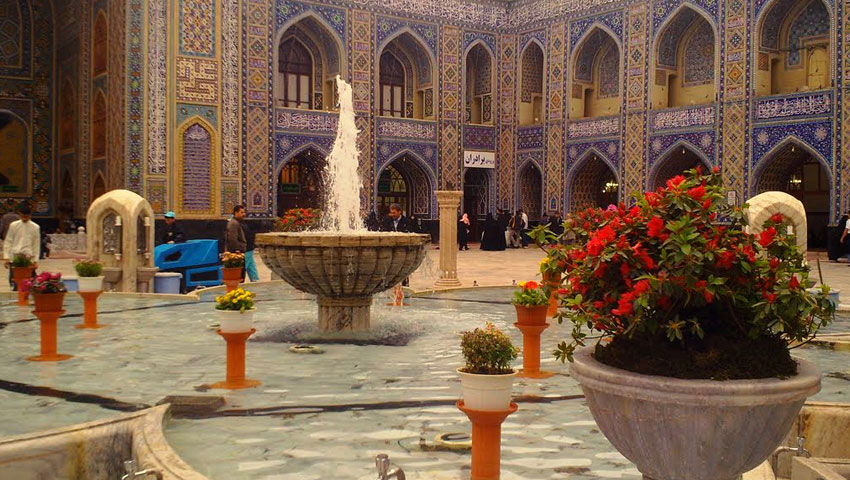 پلان های مسجد گوهرشاد