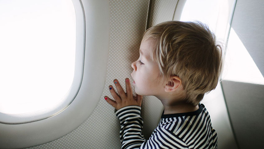 قیمت بلیط هواپیما برای کودکان
