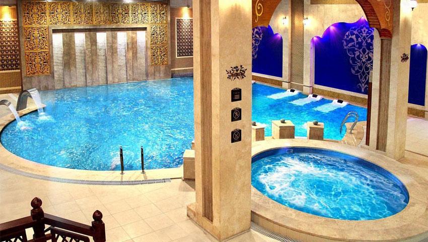 امکانات رفاهی تفریحی هتل درویشی مشهد