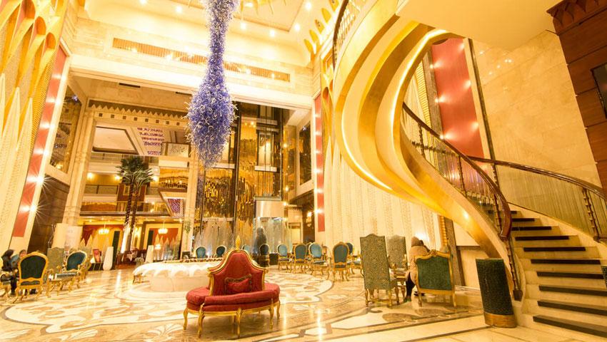 با کیفیت ترین رستوران در هتل قصر طلایی مشهد