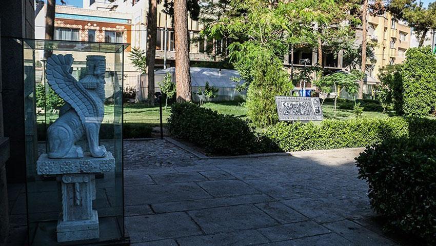 پلان باغ موزه نادری