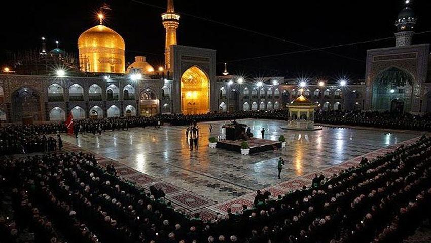 مراسم محرم در شهر مشهد