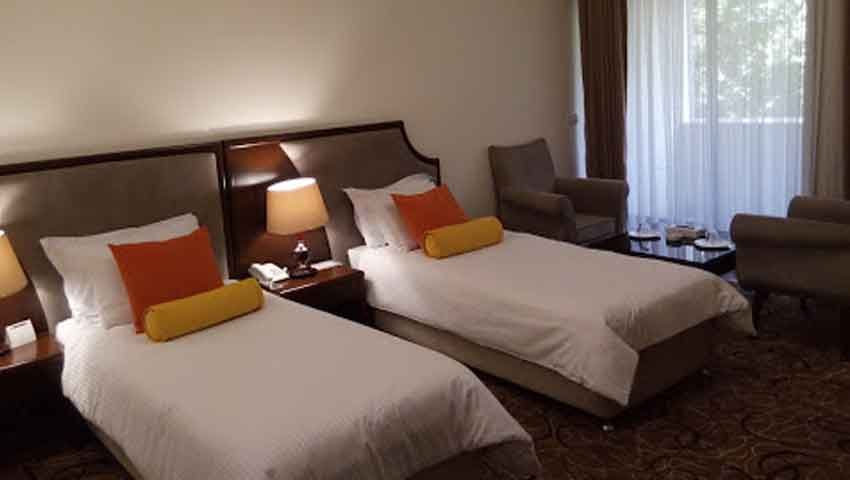 اتاق های لوکس هتل پردیسان مشهد