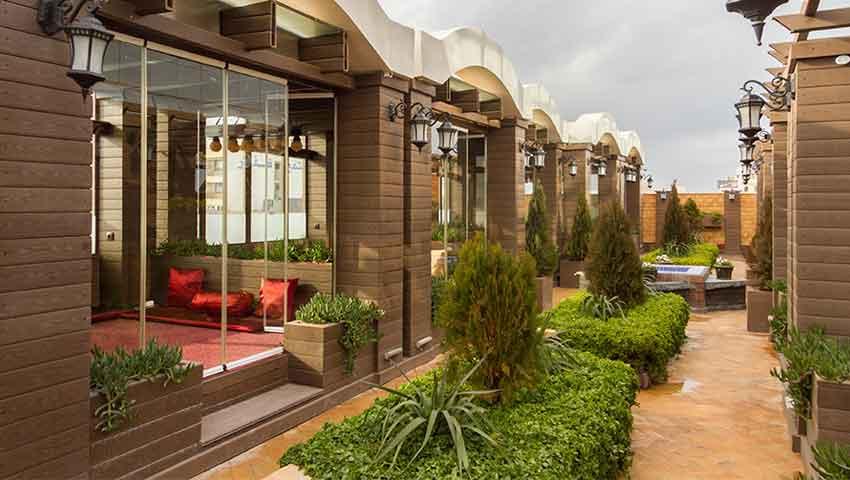 بهترین فضای داخلی هتل تارا مشهد